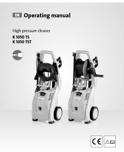 Kranzle K1050 Series Manual - Technix Mallow Co Cork