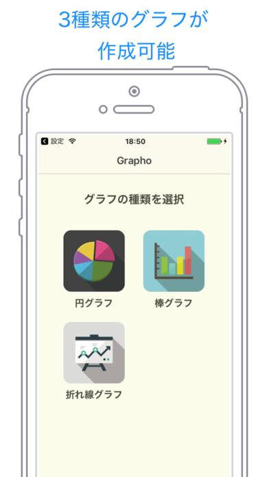iOSアプリ開発復帰第2弾、簡単グラフ作成アプリ「GraPho」をリリースしました!