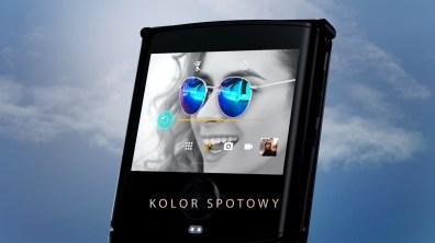 Razr Android spot color