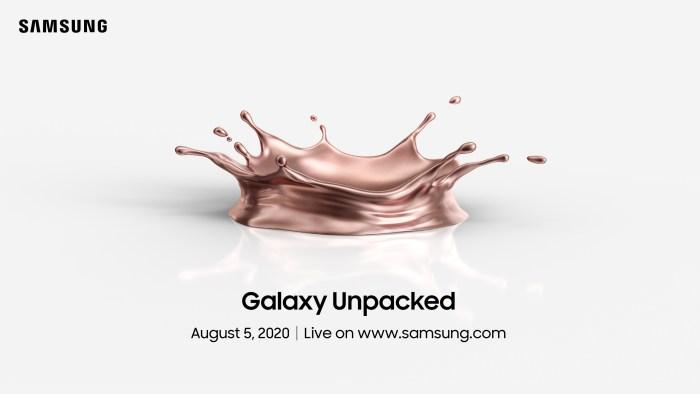 Samsung Galaxy Unpacked 2020
