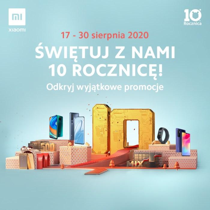 Xiaomi - 10 urodziny