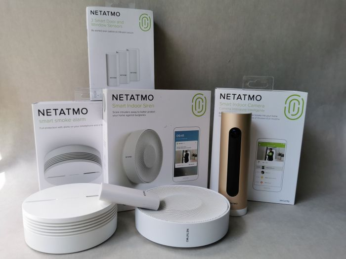 Netatmo - zestaw