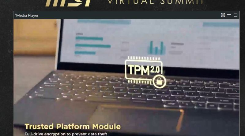 MSI Business and Productivity