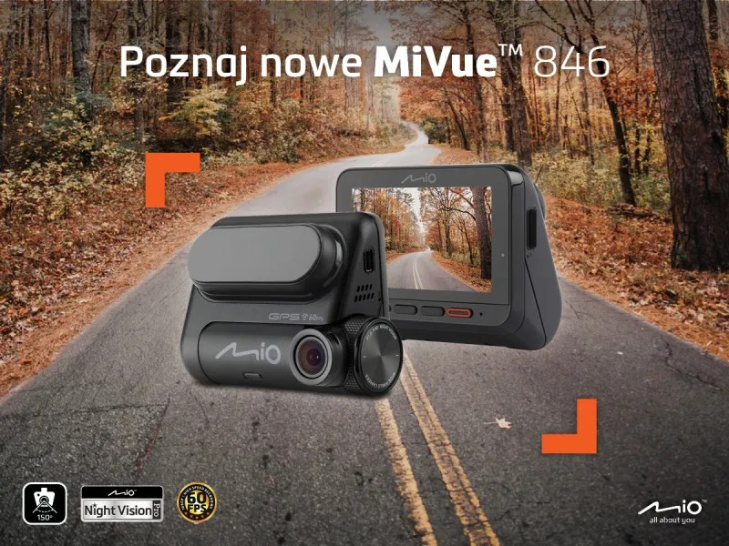 Mio MiVue 846