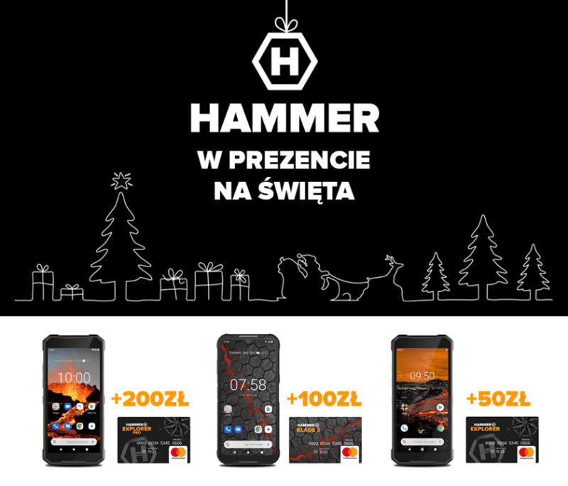 HAMMER Blade 3 i HAMMER Explorer PRO
