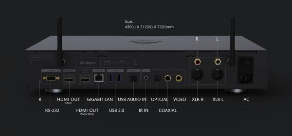 Zidoo UHD3000