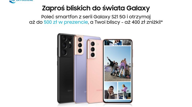 Samsung program poleceń