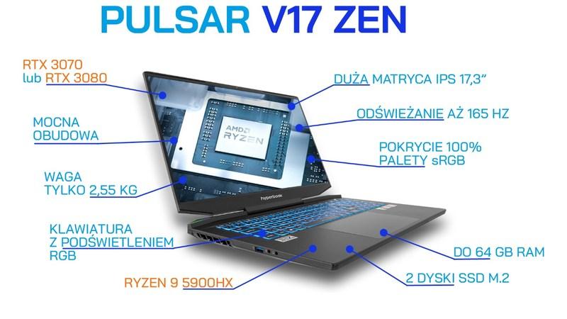 Hyperbook Pulsar V17 ZEN
