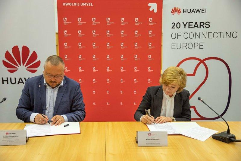 Huawei Polska i Uniwersytet Łódzki