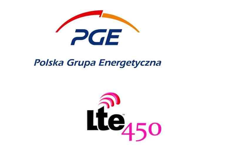 PGE sieć LTE450