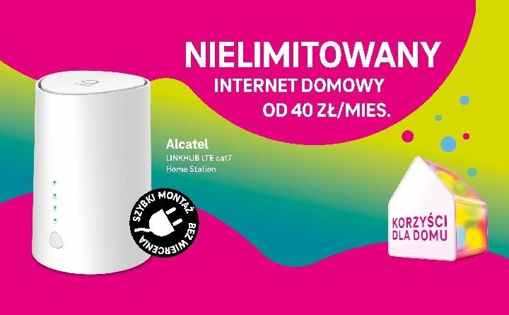 T-Mobile - nielimitowany internet domowy - nowa odsłona