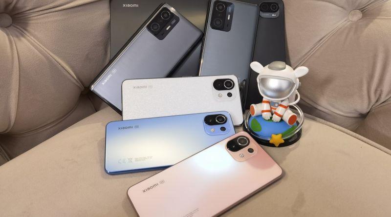 Xiaomi 11T, Xiaomi 11T Pro, Xiaomi 11 Lite 5G NE