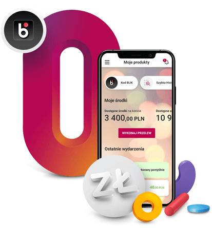 Aplikacja mobilna Banku Millennium