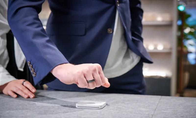 Pierścień NFC EVERING