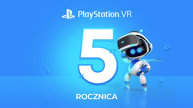 PlayStation VR ma 5 lat