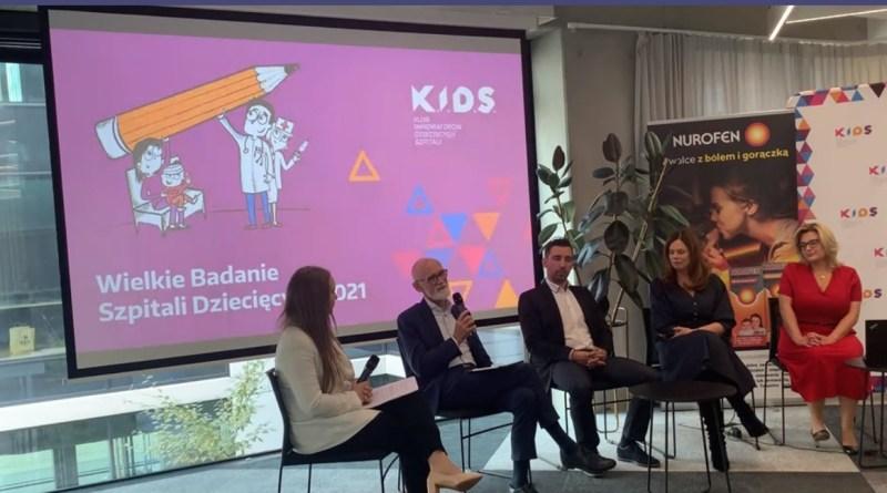 Fundacja K.I.D.S. - Wielkie Badanie Dziecięcych Szpitali 2021