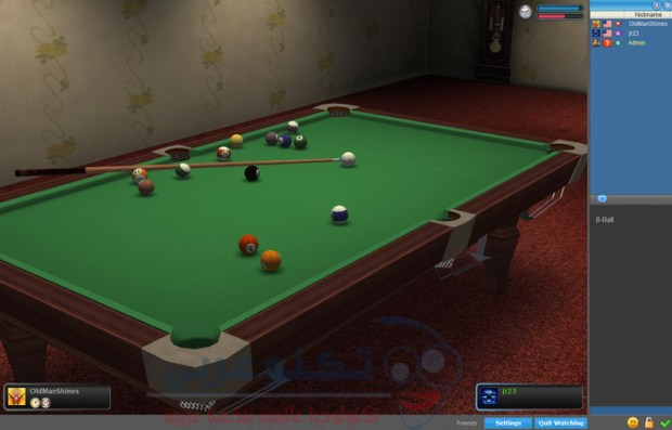 لعبة Poolians Real Pool 3D