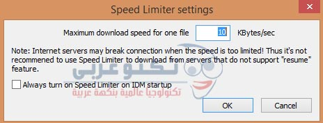 Speed Limiter in IDM 2