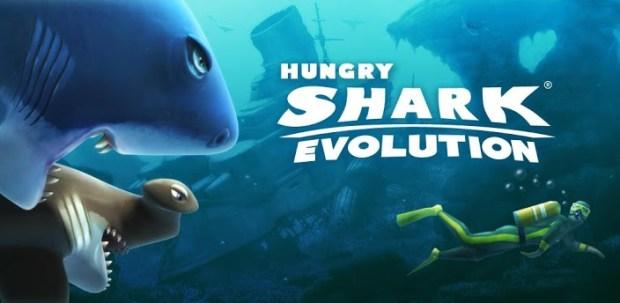لعبة القرش الجوعان