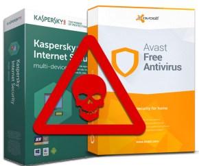 أكثر من برنامج حماية من الفيروسات