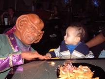 Micah dealing with the Ferengi