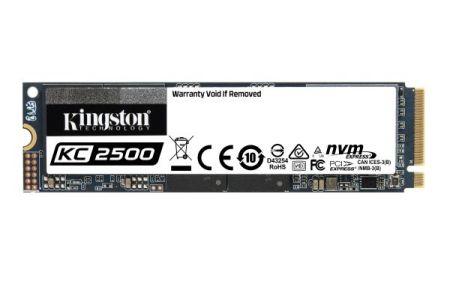SSD KC2500 - Divulgação/ Kingston