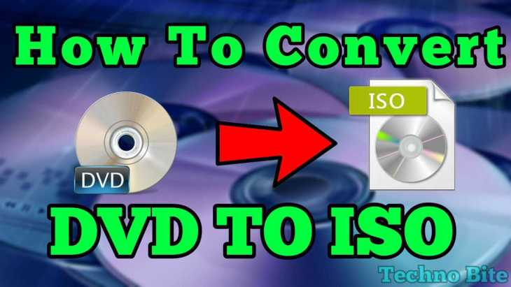 convert dvd to iso image - techno bite