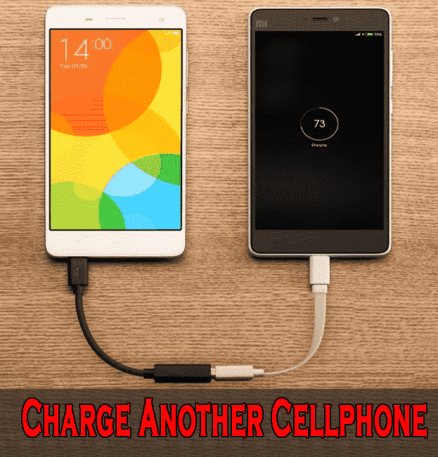 Charge Another Cellphone - Top 10 Uses of USB OTG Cable