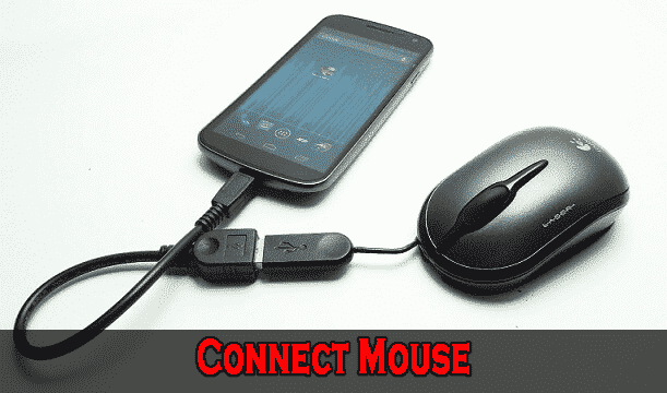 Connect USB Mouse - Top 10 Uses of USB OTG Cable