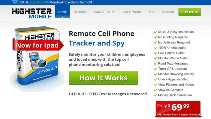 Highster Mobile - Super Cell Phone Spy App and Tracker Software For Android Mobile