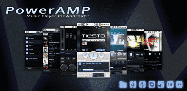 PowerAMP Best Android Music Player