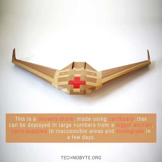APSARA - Biodegradable drone by DARPA and Otherlabs tb