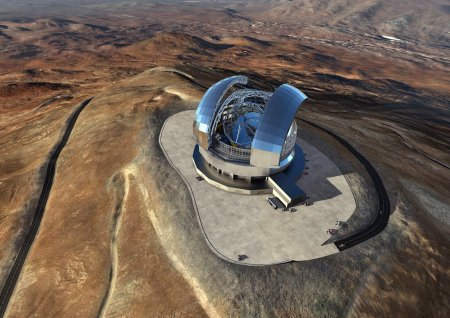 Extremely Large Telescope - Futuristic telescopes