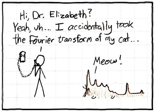 fourier transform explanation comic