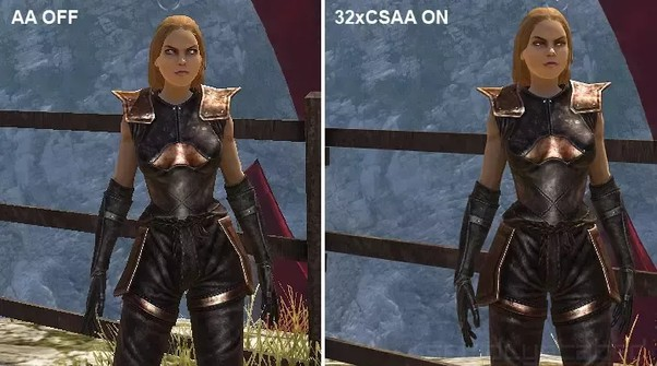 aliasing in games