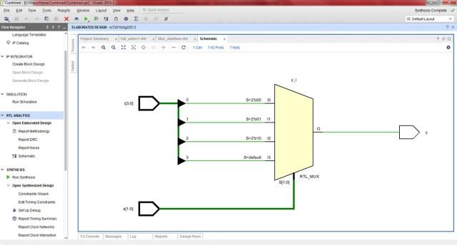 4_1_Mux-RTL schematic