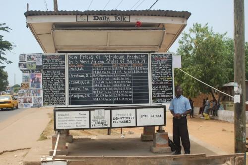 liberia black board blogger