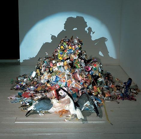shadow art from garbage 2