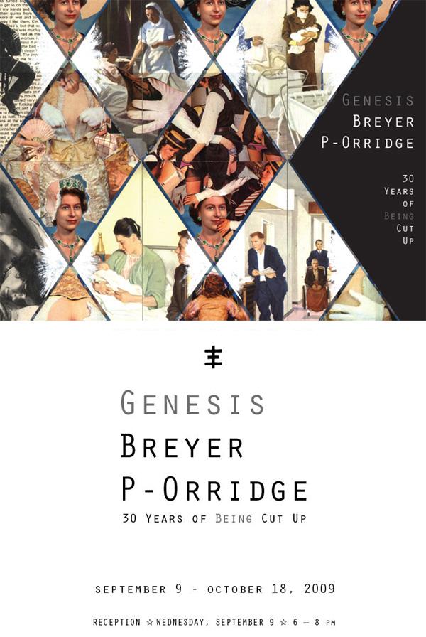genesis p. orridge art exibit