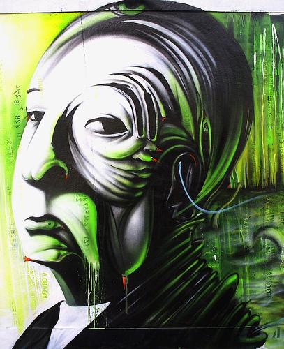 dalata alfred hitchcock graffiti portrait