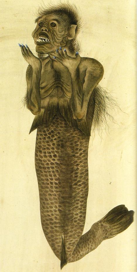 19th Century Mermaid Illustrations
