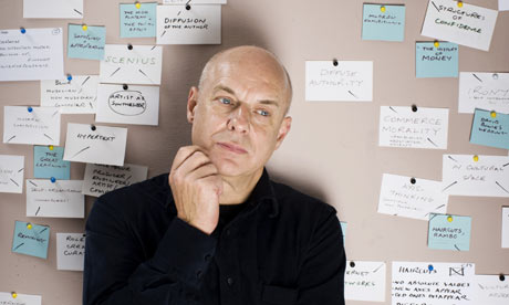 brian eno and his mind maps