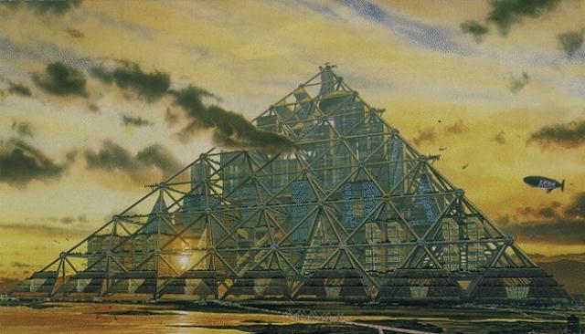 The Mega-City Pyramid