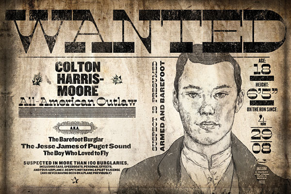 Wanted: Colton Harris-Moore