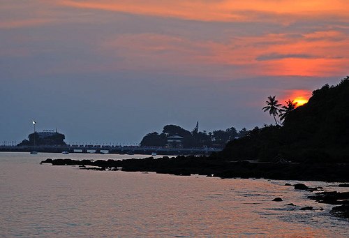 Goa sunset by Koshy Koshy