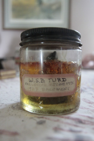 William S. Burroughs turd