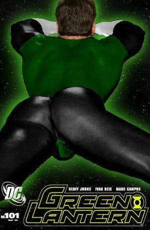Green Lantern objectified