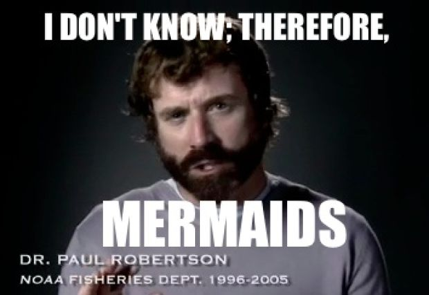 I don't know; therefore, mermaids