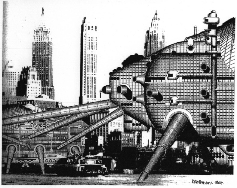 Archigram's Walking City
