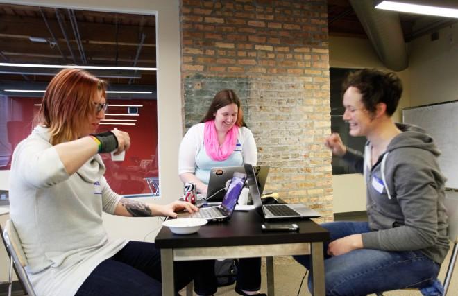 Transgender coders at TransHack